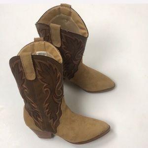 Dingo Women's Leather Cowboy Boots Size 7